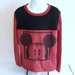 Boy's Disney Mickey Mouse Long Sleeve T Shirt